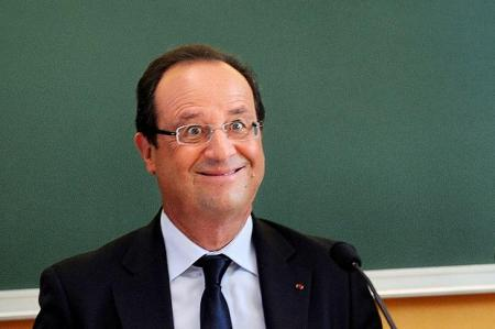 Frogsident Hollande